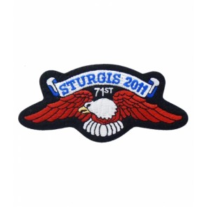 Official Sturgis Motorcycle Rally Eagle Wings 2011 Patch