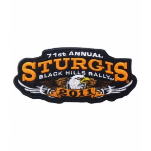 71st Annual Sturgis Black Hills Rally 2011 Eagle Patch