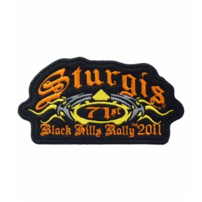 2011 Sturgis 71st Black Hills Rally Tribal Event Patch