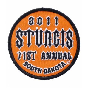 2011 Sturgis 71st Annual South Dakota Orange Event Patch
