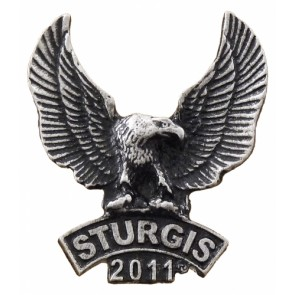 Sturgis 2011 Black Hills Rally Upwing Eagle Event Pin