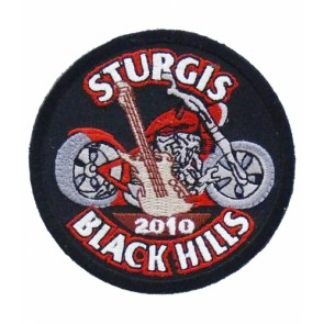 2010 Sturgis Black Hills Rally Guitar & Motorcycle Event Patch