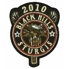 2010 Black Hills Sturgis Rally Eagle Biker Patch