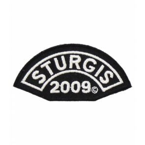 2009 Sturgis Motorcycle Rally White Event Patch
