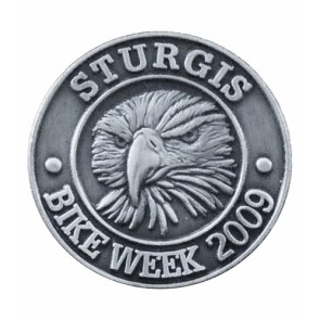 Sturgis Bike Week 2009 Grey Eagle Event Pin