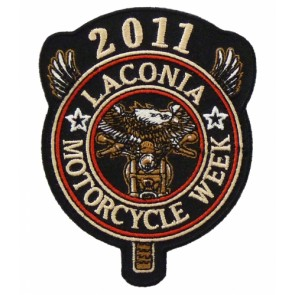 2011 Laconia Motorcycle Week Eagle Biker Patch