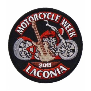 2011 Laconia Motorcycle Week Guitar Event Patch