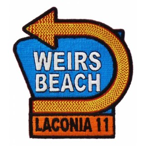2011 Laconia Motorcycle Week Weirs Beach Patch