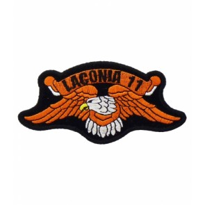 Laconia 2011 Motorcycle Week Orange Eagle Patch