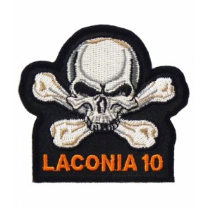 Laconia 2010 Motorcycle Week Grey Skull Patch