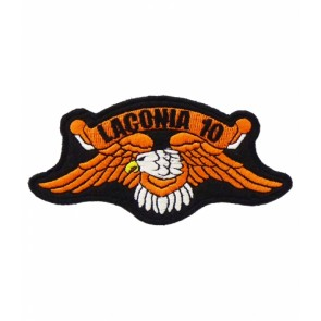 Laconia 2010 Motorcycle Week Orange Eagle Patch