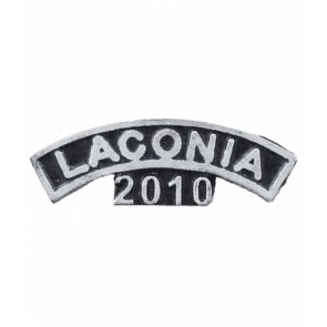 Laconia 2010 Bike Week Silver & Black Event Pin