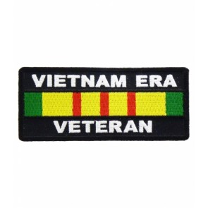 Vietnam Era Veteran Service Ribbon Patch, Military Patches