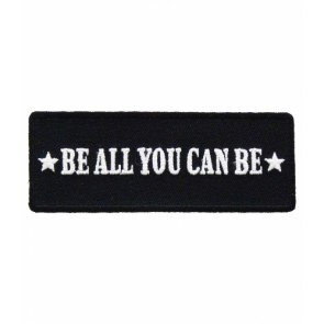 Be All You Can Be Patch, U.S. Army Military Patches