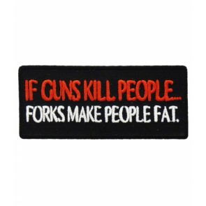 If Guns Kill People Forks Patch, 2nd Amendment Patches