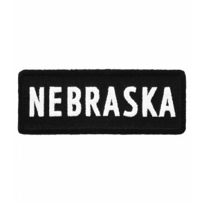 Nebraska State Patch, 50 United States Patches