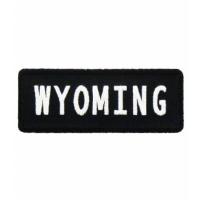 Wyoming State Patch, 50 United States Patches