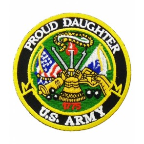 U.S. Army Proud Daughter Patch, Military Patches