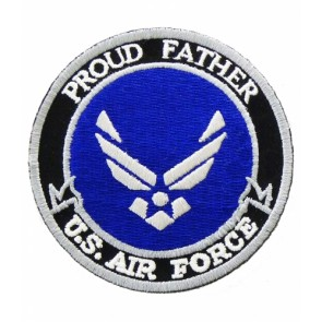 U.S. Air Force Proud Father Patch, Military Patches