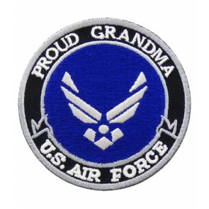 U.S. Air Force Proud Grandma Patch, Military Patches