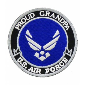 U.S. Air Force Proud Grandpa Patch, Military Patches