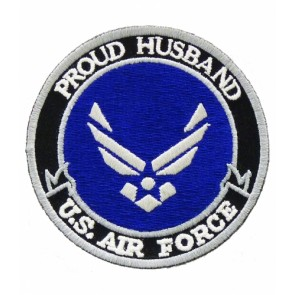 U.S. Air Force Proud Husband Patch, Military Patches