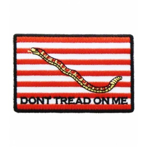 U.S. Navy Jack Gadsden Flag Patch, Patriotic Patches