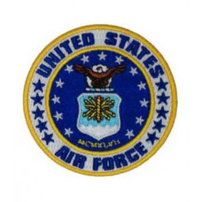 Air Force White Seal & Stars Patch, U.S. Air Force Patches