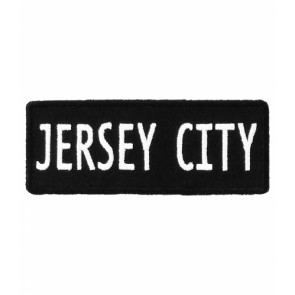 Jersey City New Jersey Patch, Major US City Patches