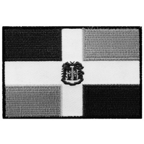 Dominican Republic Subdued Flag Patch, Dominican Patches