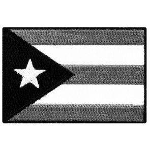 Puerto Rico Subdued Flag Patch, Puerto Rican Pride Patches