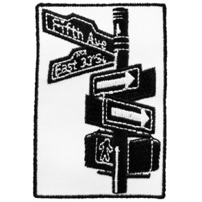 New York City Street Sign Patch, New York Patches