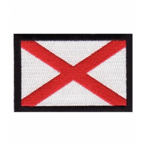 Alabama State Flag Patch, 50 State Flag Patches