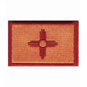 New Mexico State Flag Patch, 50 State Flag Patches