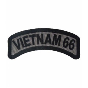 Vietnam 66 Rocker Patch, Vietnam Veteran Patches