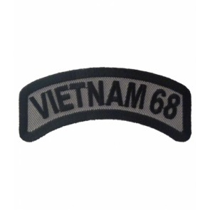 Vietnam 68 Rocker Patch, Vietnam Veteran Patches