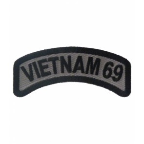 Vietnam 69 Rocker Patch, Vietnam Veteran Patches