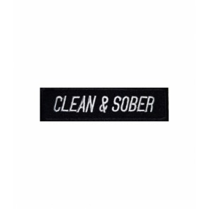 Clean & Sober Patch, Sobriety And Recovery Patches