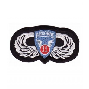 Airborne 11th Division, Airborne Wings Patches