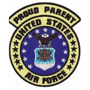 Air Force Proud Parent Patch, Air Force Patches