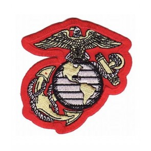Eagle Globe Anchor Logo Patch, U.S. Marines Patches