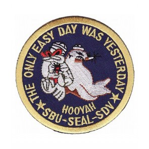 Easy Day Navy Seal Patch, U.S. Navy Patches