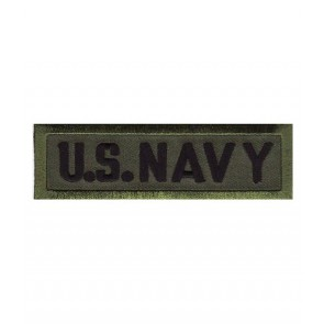 U.S. Navy Green Tab Patch, Military Insignia Patches
