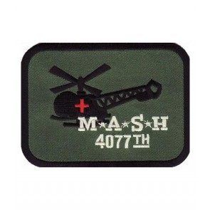 MASH 4077th Helicopter Patch, Military Patches