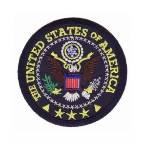 Great Seal of The United States Patch, Patriotic Patches