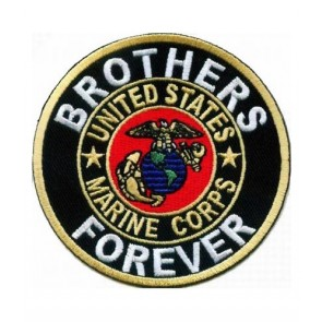 Brothers Forever Marine Corps Patch, Marines Patches