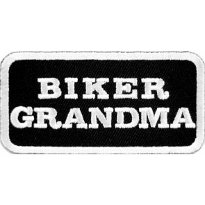 Biker Grandma Patch, Biker & Motorcycle Patches