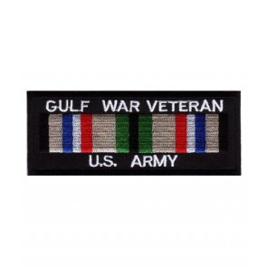 Army Gulf War Vet Service Ribbon Patch, Military Patches
