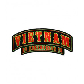 Vietnam 59-75 Rocker Patch, Vietnam Rocker Patches