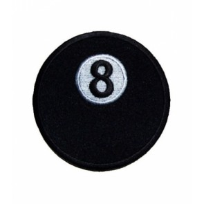8 Ball Patch, Billiards & Sports Patches